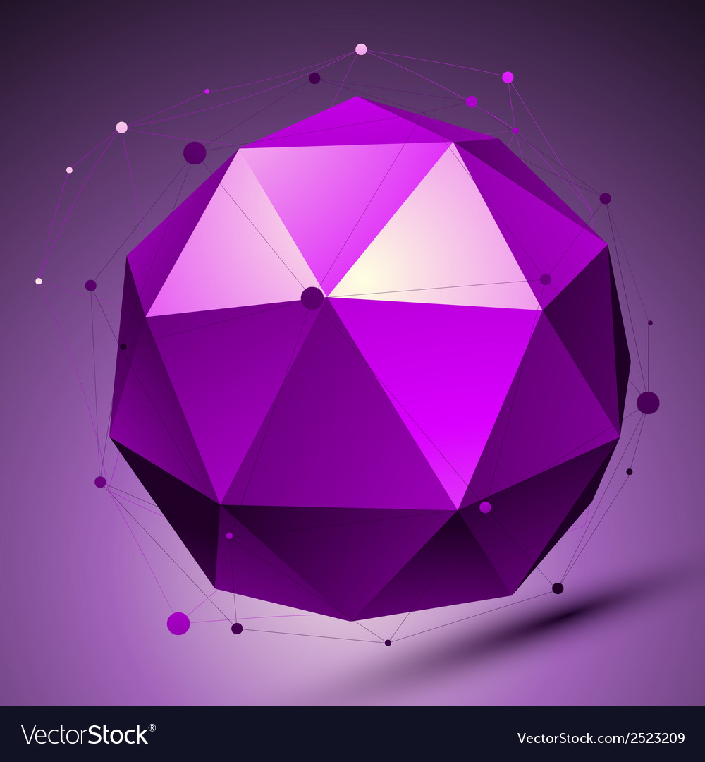 Purple 3d modern stylish abstract background vector | Price: 1 Credit (USD $1)