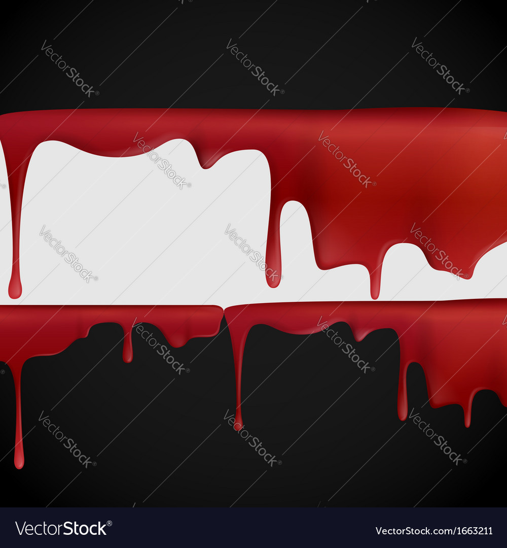 Dripping blood vector | Price: 1 Credit (USD $1)