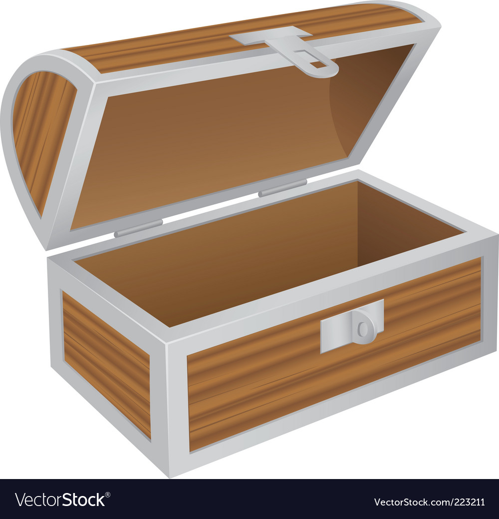 Empty chest vector | Price: 1 Credit (USD $1)