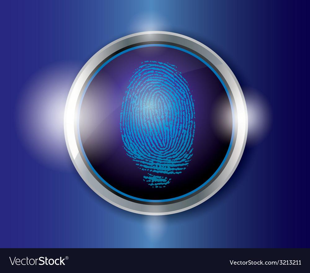 Finger scan vector | Price: 1 Credit (USD $1)