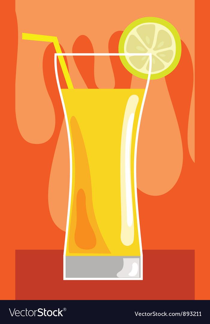 Orange juice vector | Price: 1 Credit (USD $1)