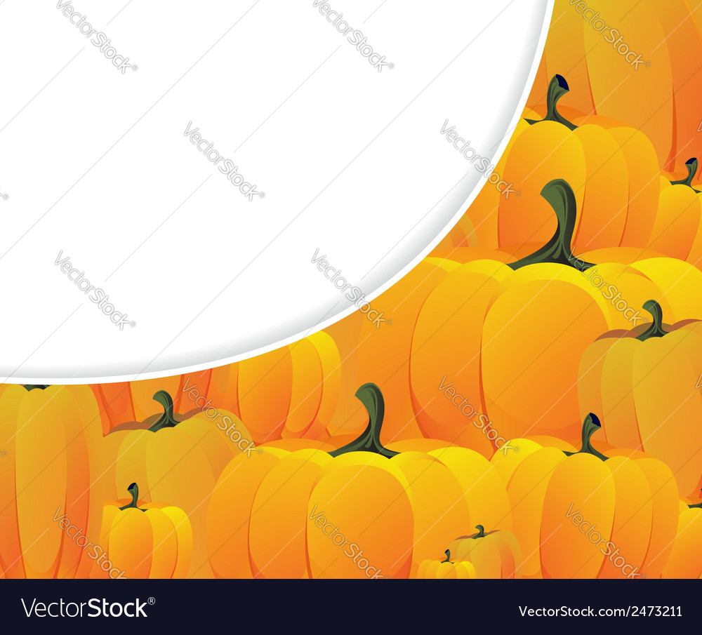 Ripe pumpkins vector | Price: 1 Credit (USD $1)