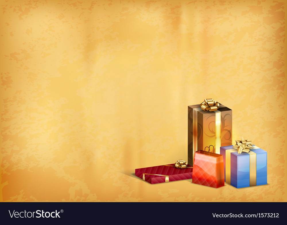 Christmas old background vector | Price: 1 Credit (USD $1)