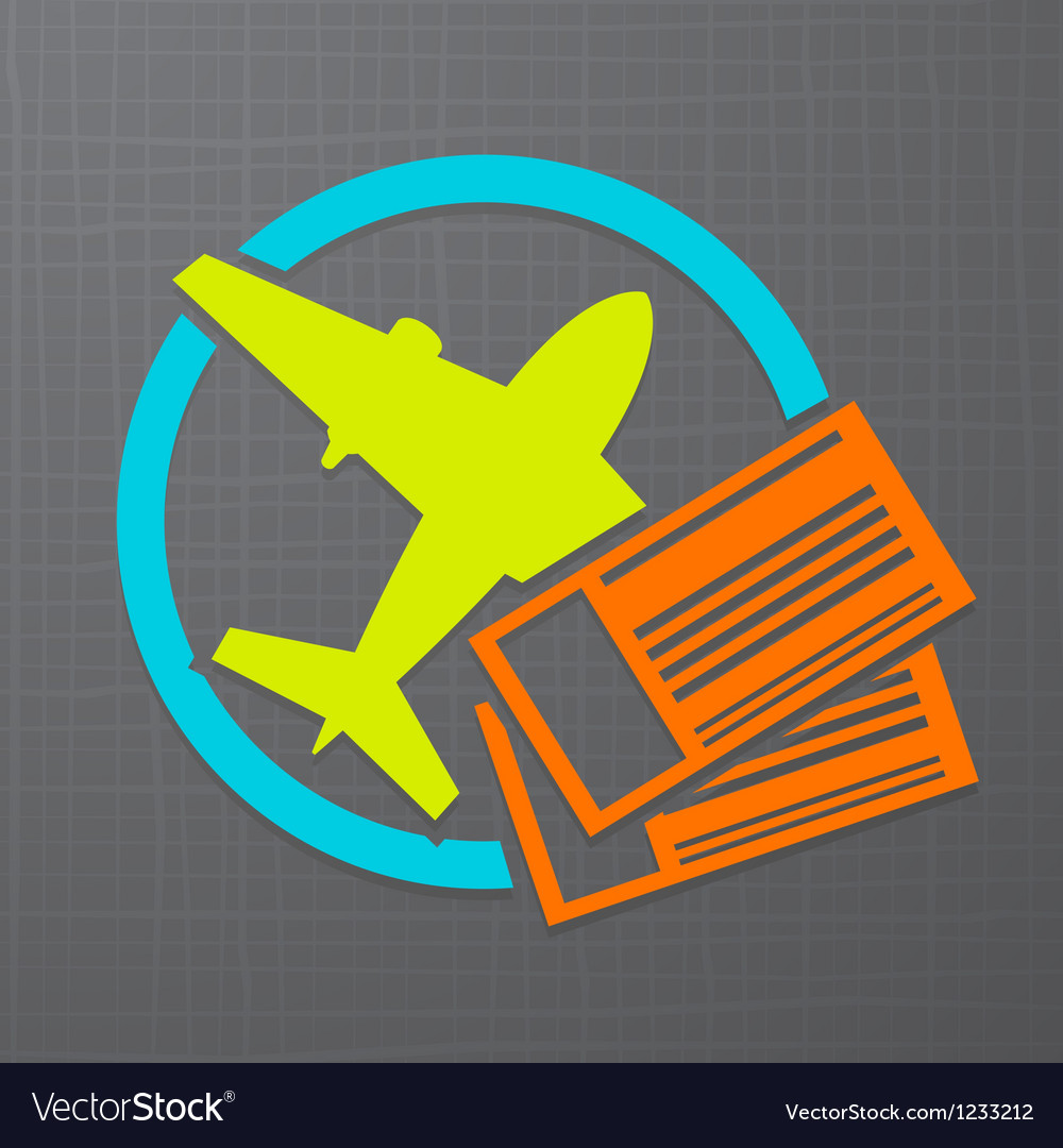 Flight icon vector | Price: 1 Credit (USD $1)