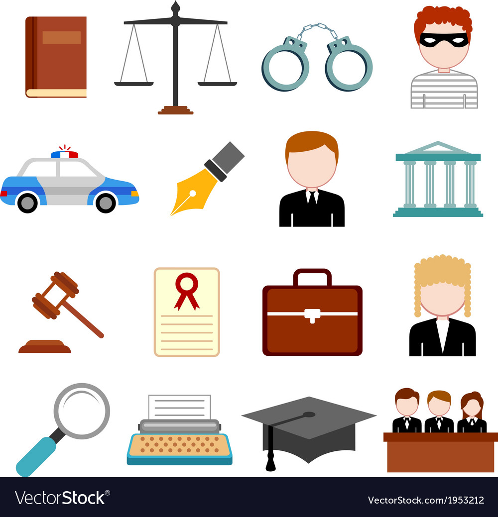 Law and justice icon vector | Price: 1 Credit (USD $1)