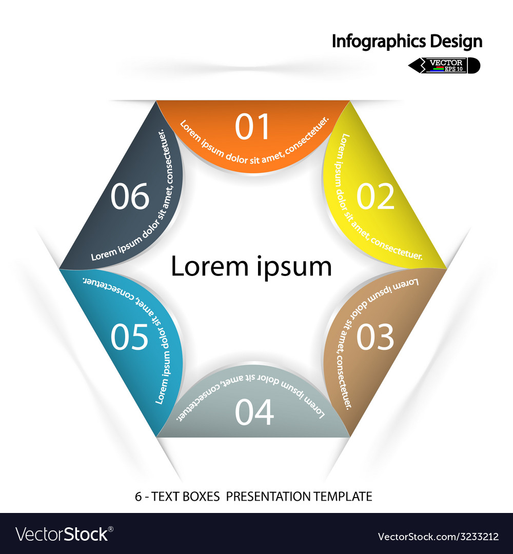 Modern presentation template vector | Price: 1 Credit (USD $1)