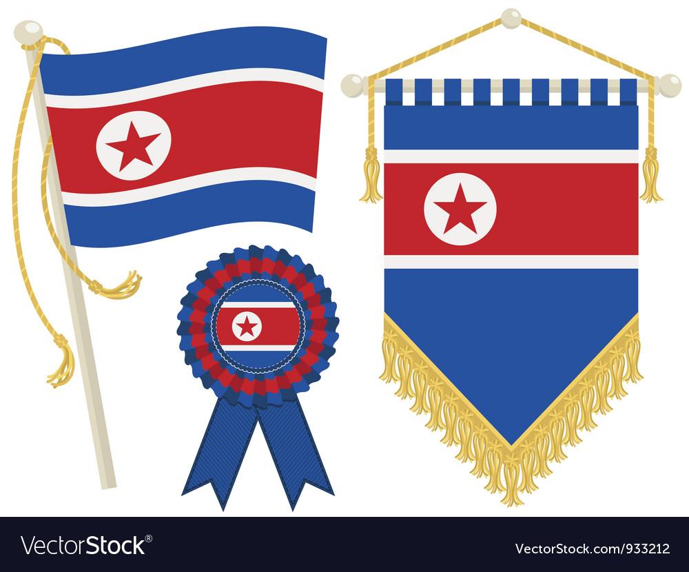North korea vector | Price: 1 Credit (USD $1)