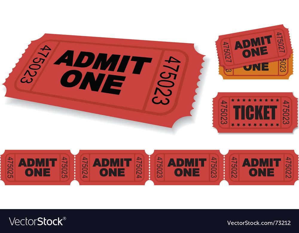 Ticket vector | Price: 1 Credit (USD $1)