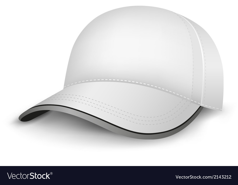 White cap vector | Price: 1 Credit (USD $1)