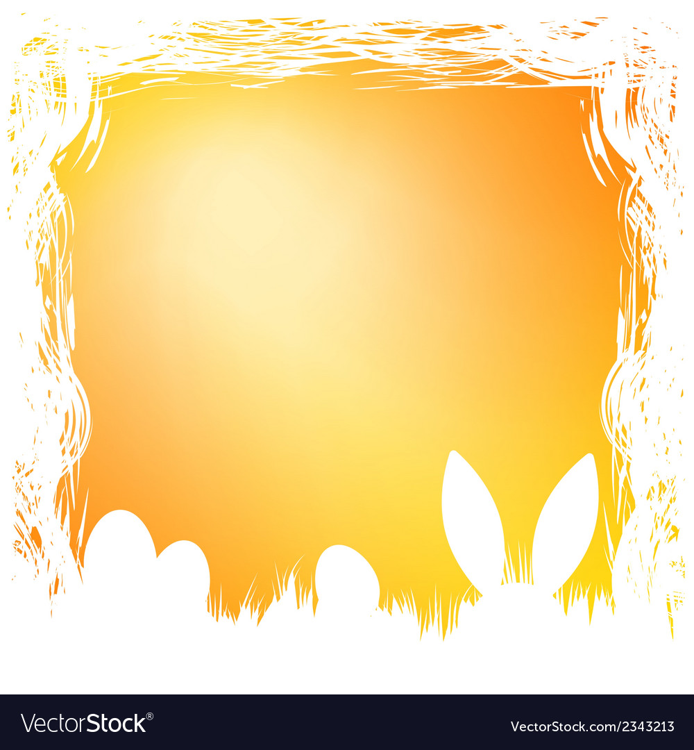 Happy easter card template eps 8 vector | Price: 1 Credit (USD $1)