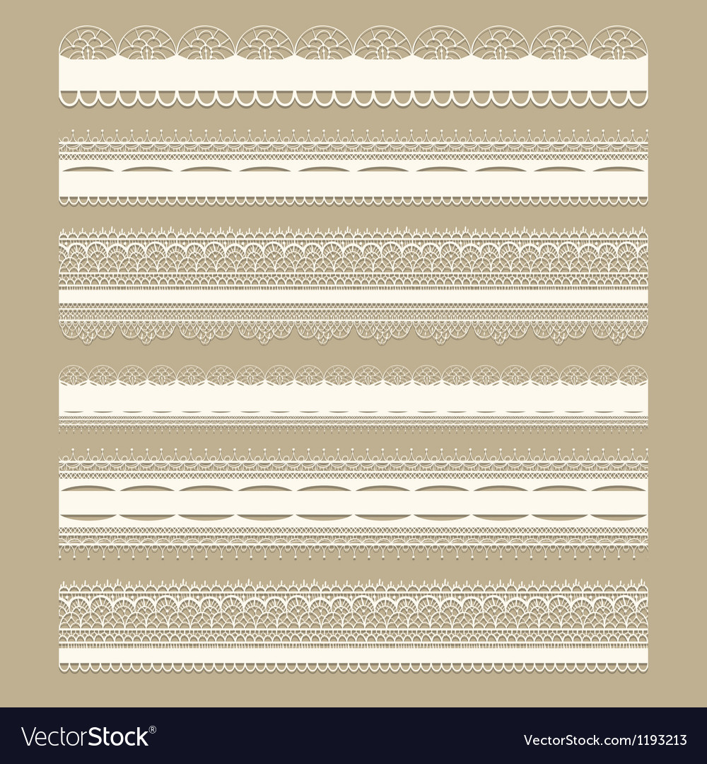 Lacy vintage design elements vector | Price: 1 Credit (USD $1)