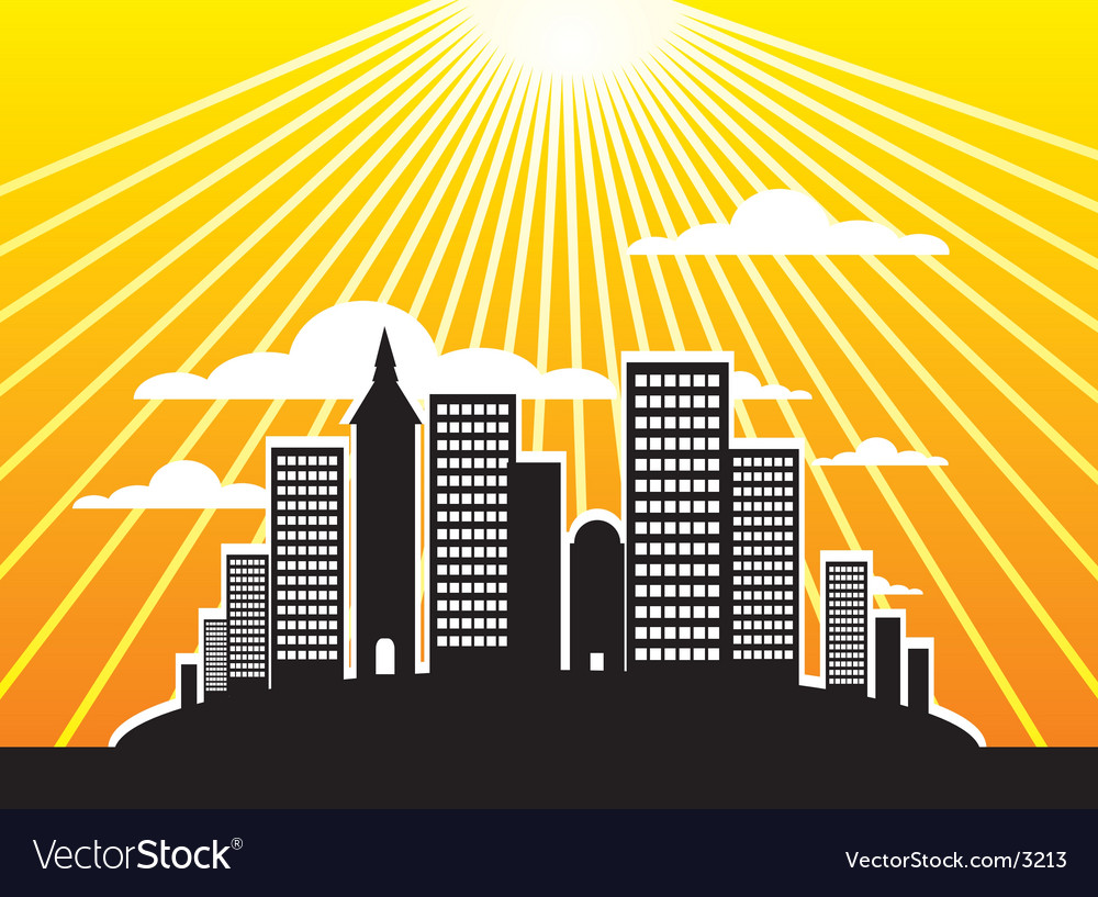 Urban city illustration vector   Price: 1 Credit (USD $1)