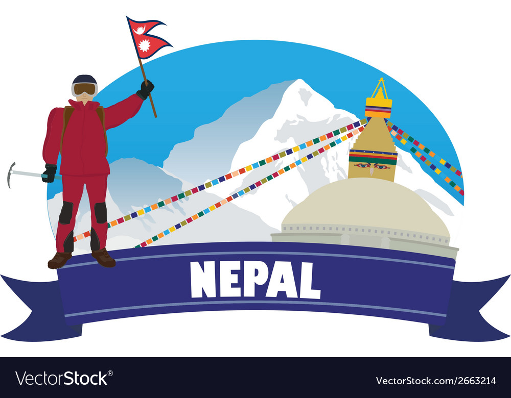Nepal vector | Price: 1 Credit (USD $1)