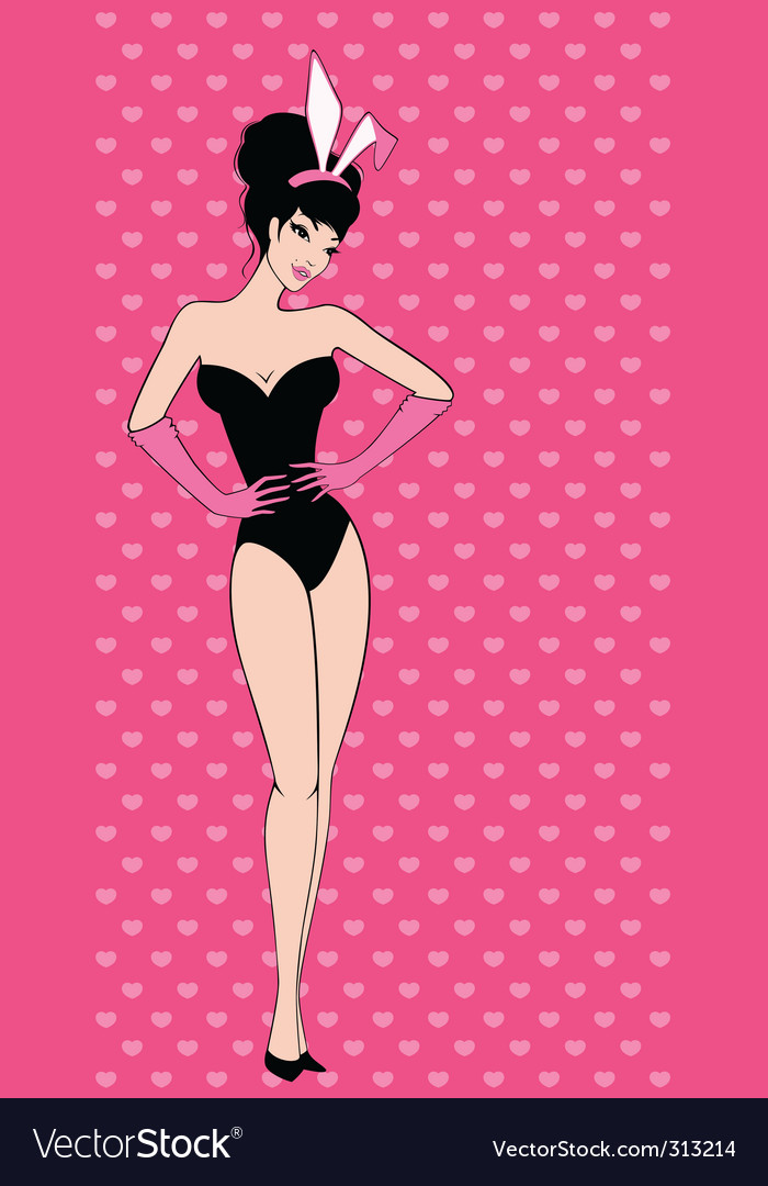 Show girl vector | Price: 1 Credit (USD $1)