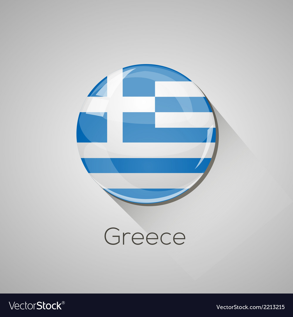 European flags set - greece vector | Price: 1 Credit (USD $1)