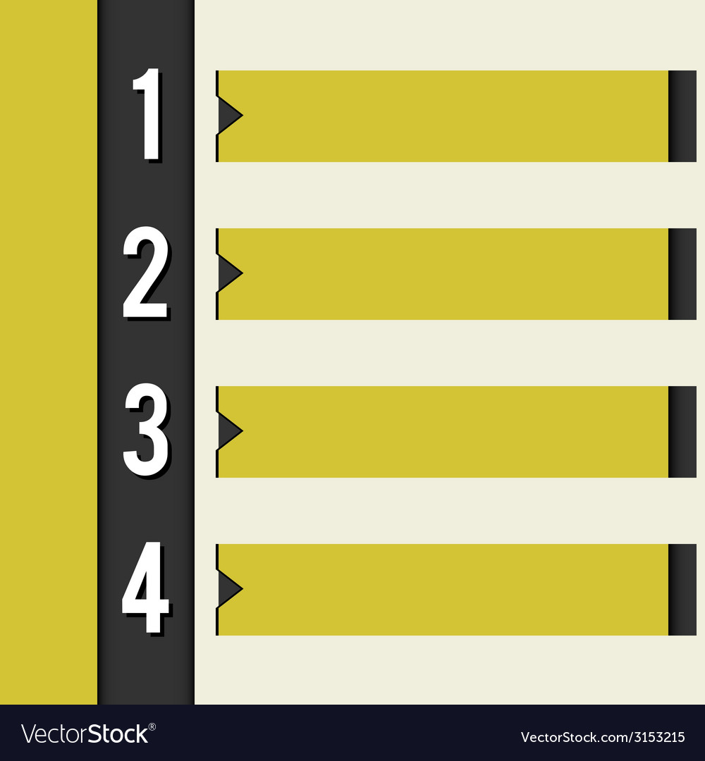 Yellow info bar vector | Price: 1 Credit (USD $1)