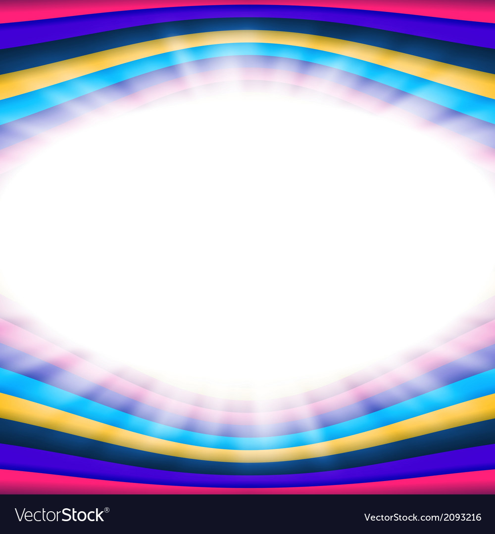 Abstract background with flare and color lines vector | Price: 1 Credit (USD $1)