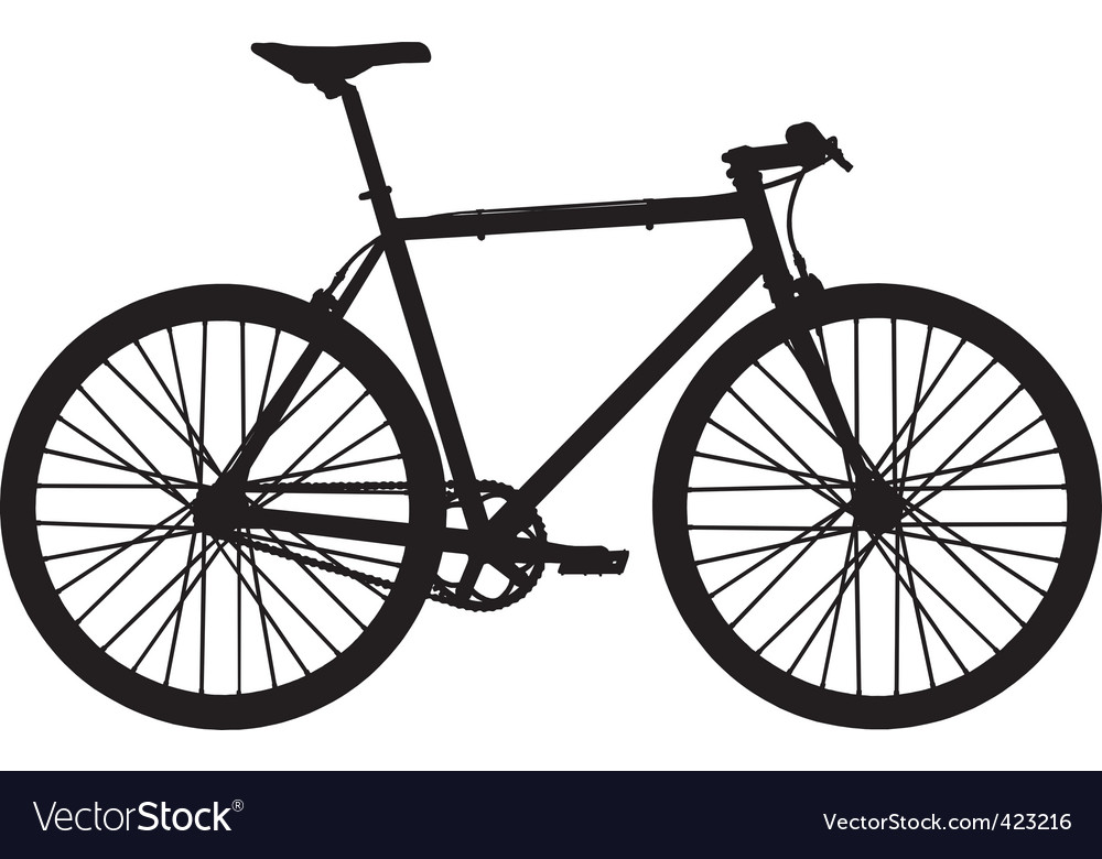 Single speed bicycle vector | Price: 1 Credit (USD $1)