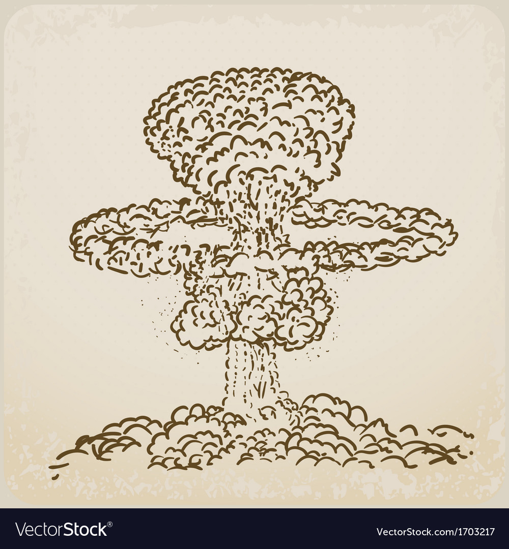 Atomic explosion vector | Price: 1 Credit (USD $1)