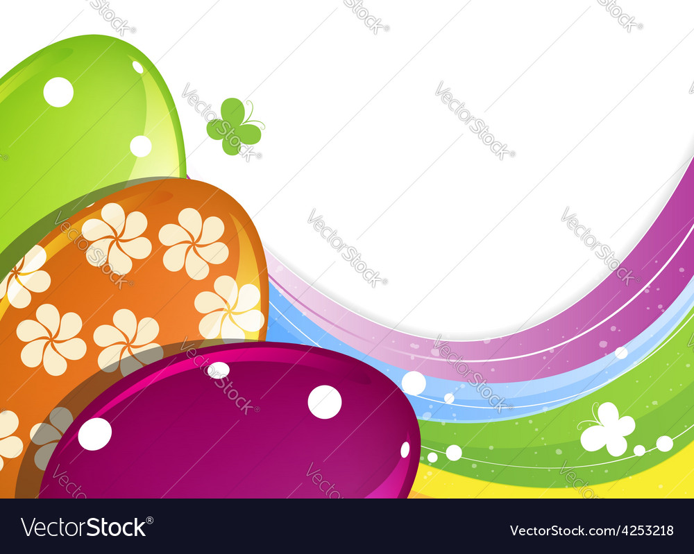 Easter eggs vector | Price: 3 Credit (USD $3)
