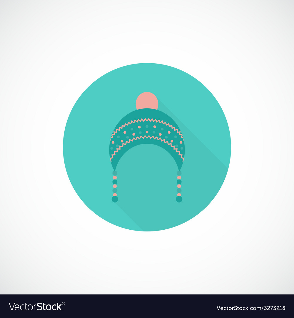 Hat icon in flat style vector | Price: 1 Credit (USD $1)