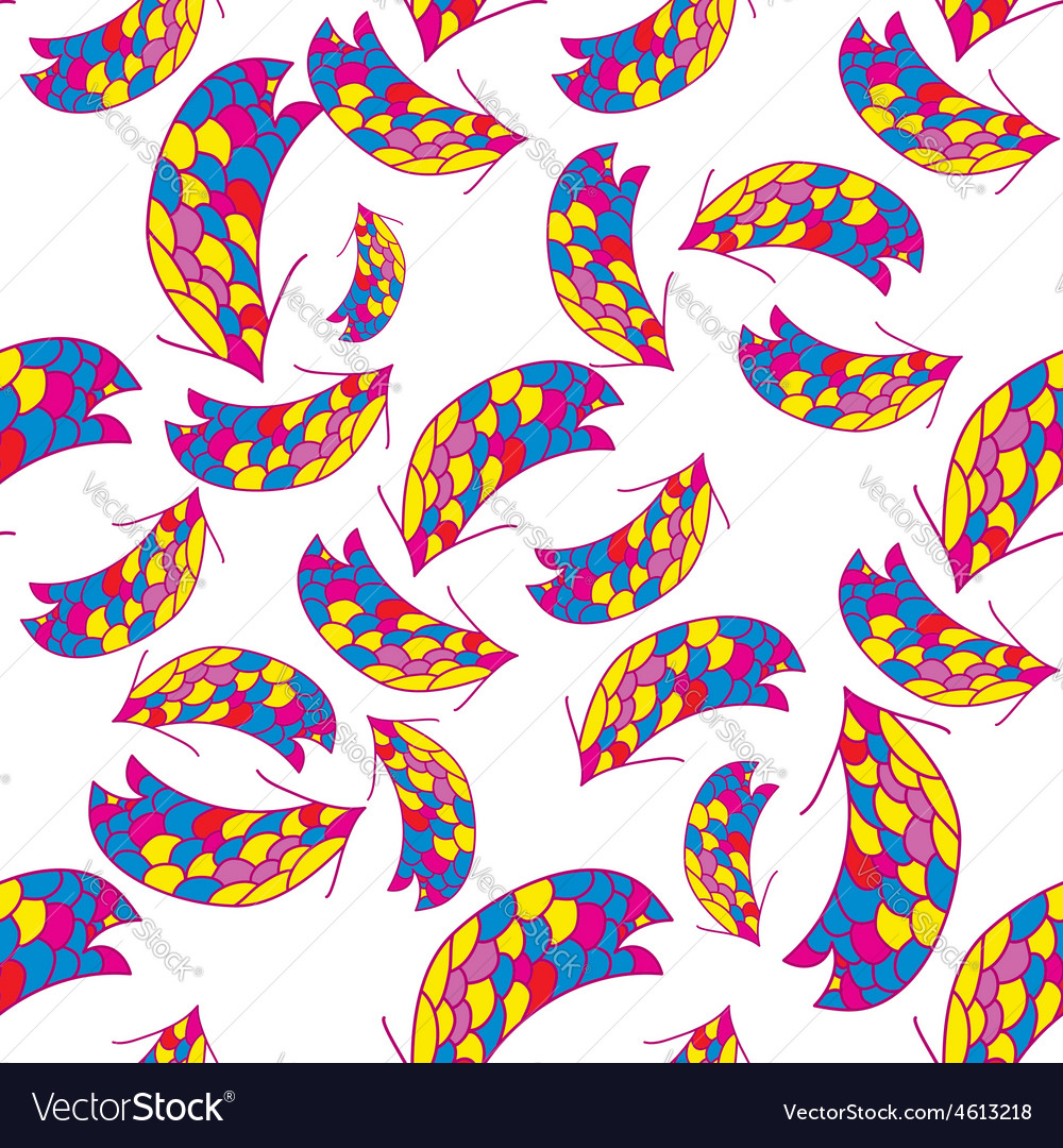 Seamless colorful background with arrows vector | Price: 1 Credit (USD $1)