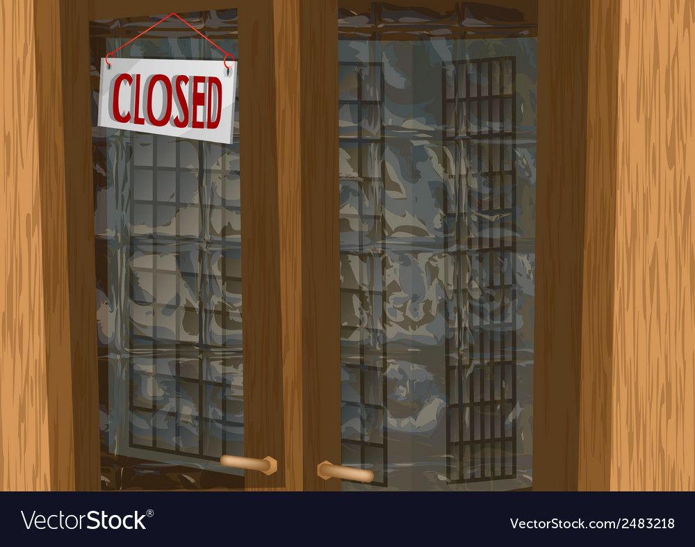 Shop closed vector | Price: 1 Credit (USD $1)