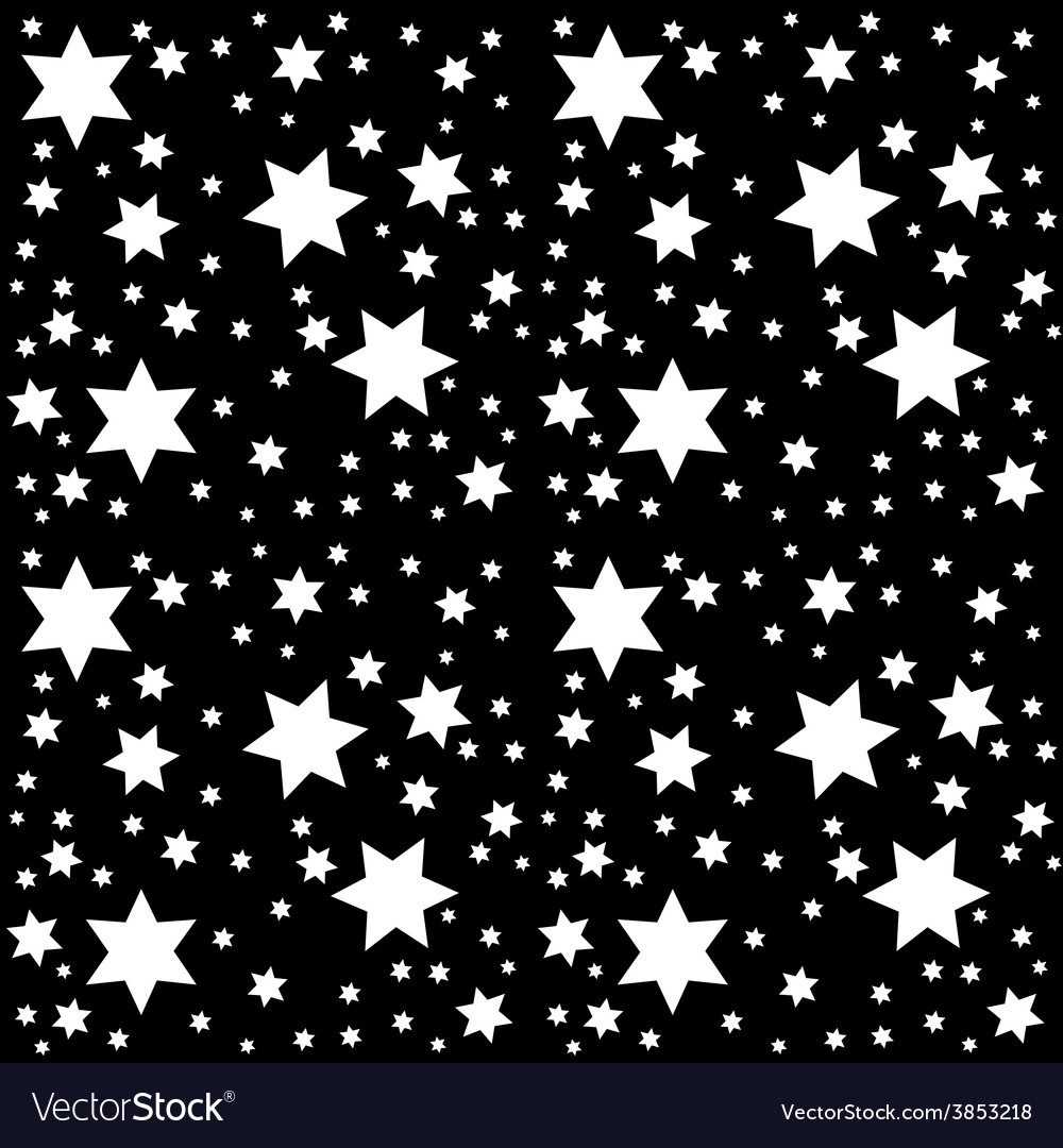 Space starry sky with the moon vector | Price: 1 Credit (USD $1)