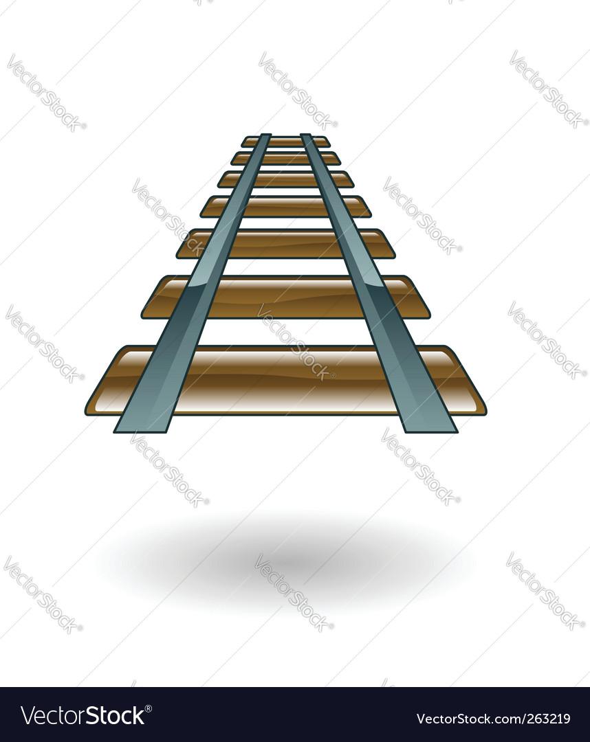 Rail illustration vector | Price: 1 Credit (USD $1)