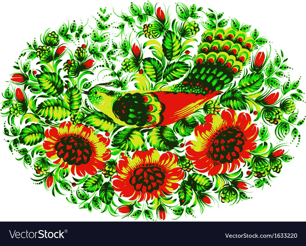 Birds of paradise vector | Price: 1 Credit (USD $1)