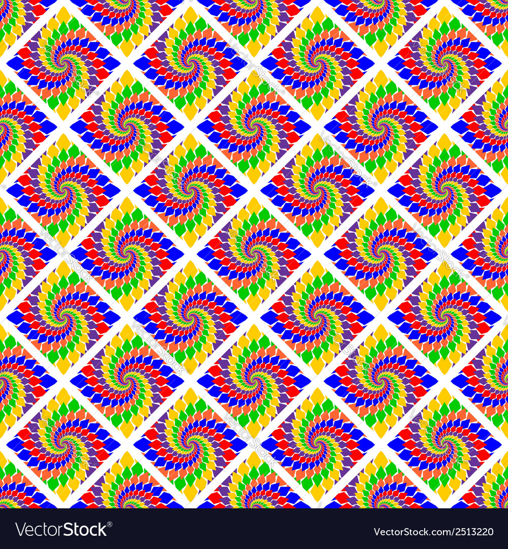 Design seamless vortex geometric pattern vector | Price: 1 Credit (USD $1)
