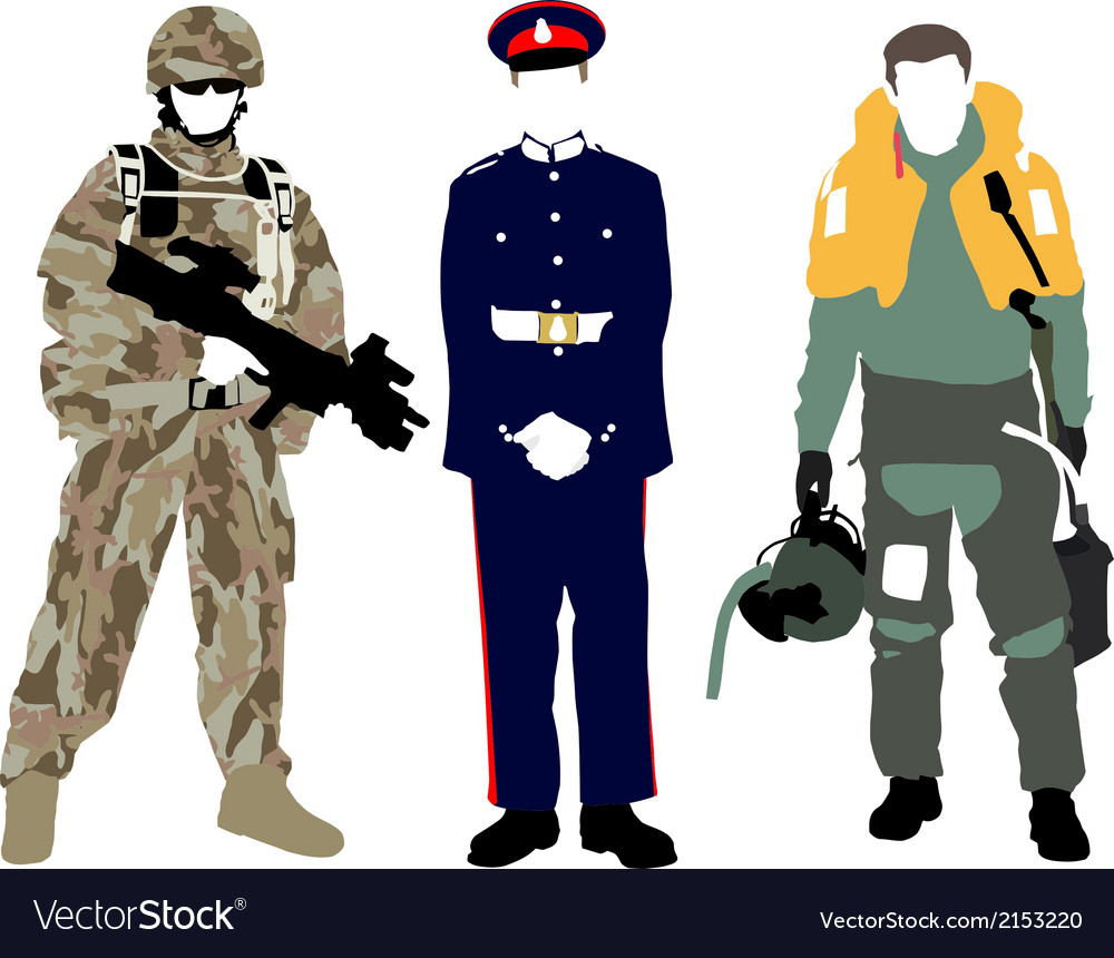 Uk military vector | Price: 1 Credit (USD $1)