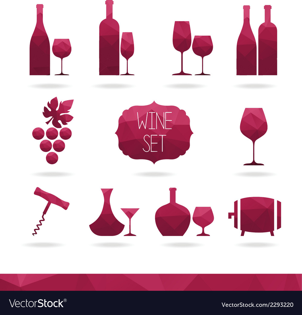 Wine icon vector | Price: 1 Credit (USD $1)