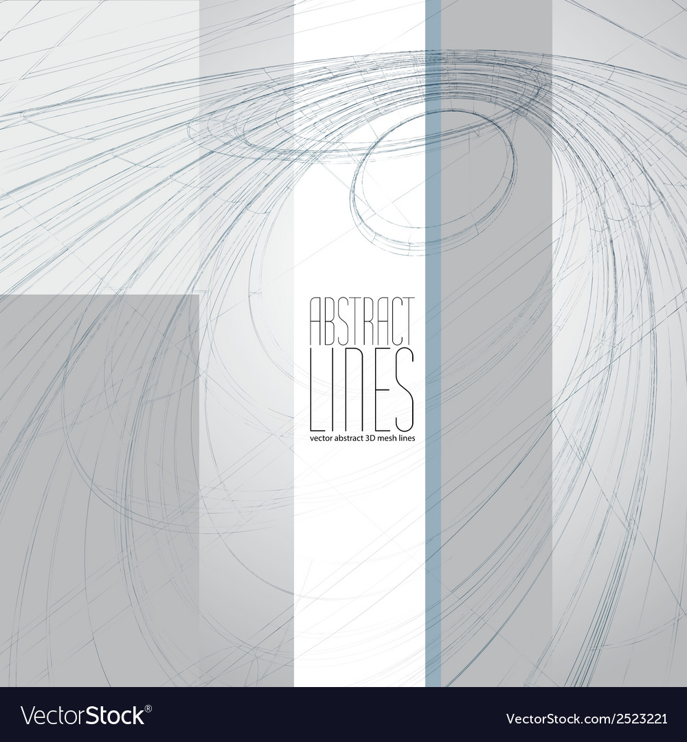 Abstract background 3d abstract lines comm vector | Price: 1 Credit (USD $1)