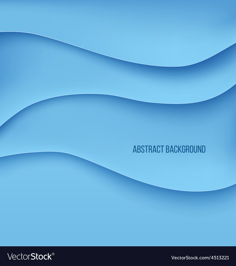 Abstract blue paper layers background shadow vector   Price: 1 Credit (USD $1)
