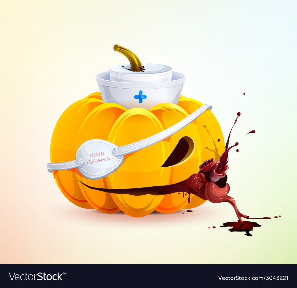 Doc pumpkins vector | Price: 1 Credit (USD $1)