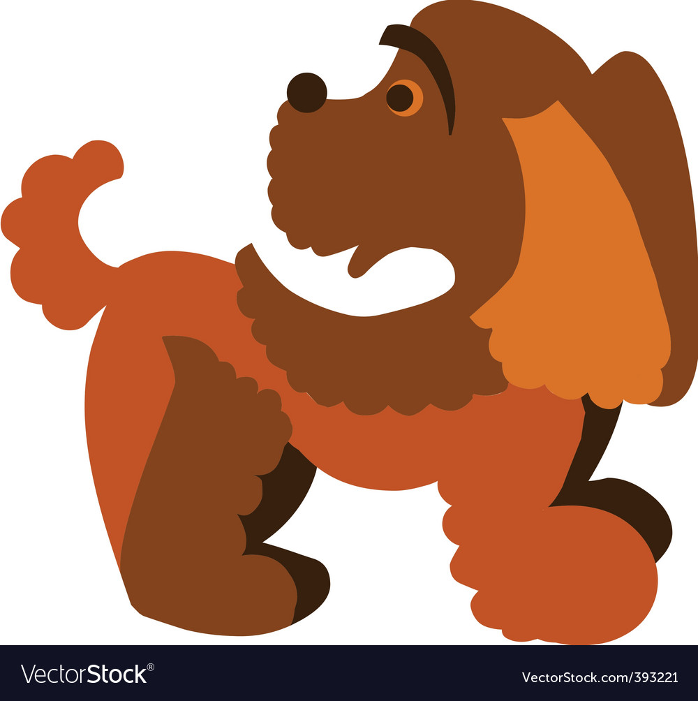 Pet dog vector | Price: 1 Credit (USD $1)