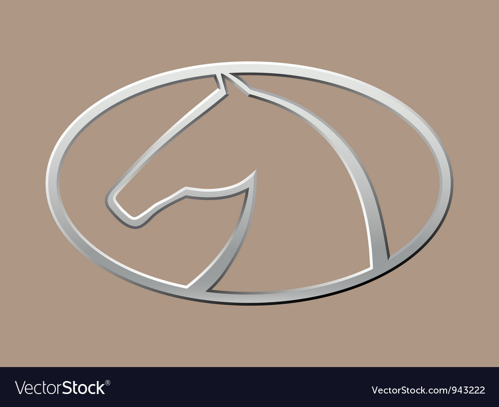 Horse symbol vector | Price: 1 Credit (USD $1)