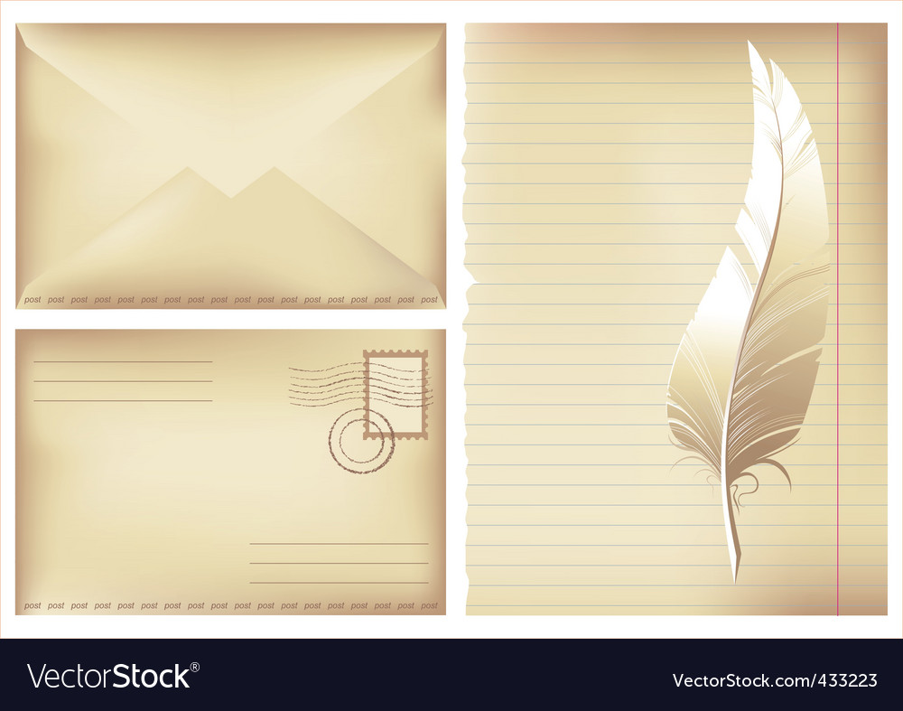 Postage background vector | Price: 1 Credit (USD $1)