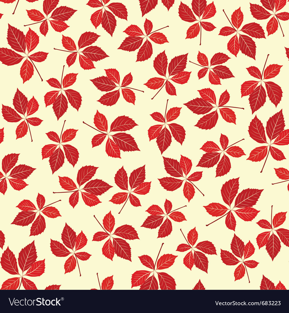 Seamless creeper pattern vector | Price: 1 Credit (USD $1)