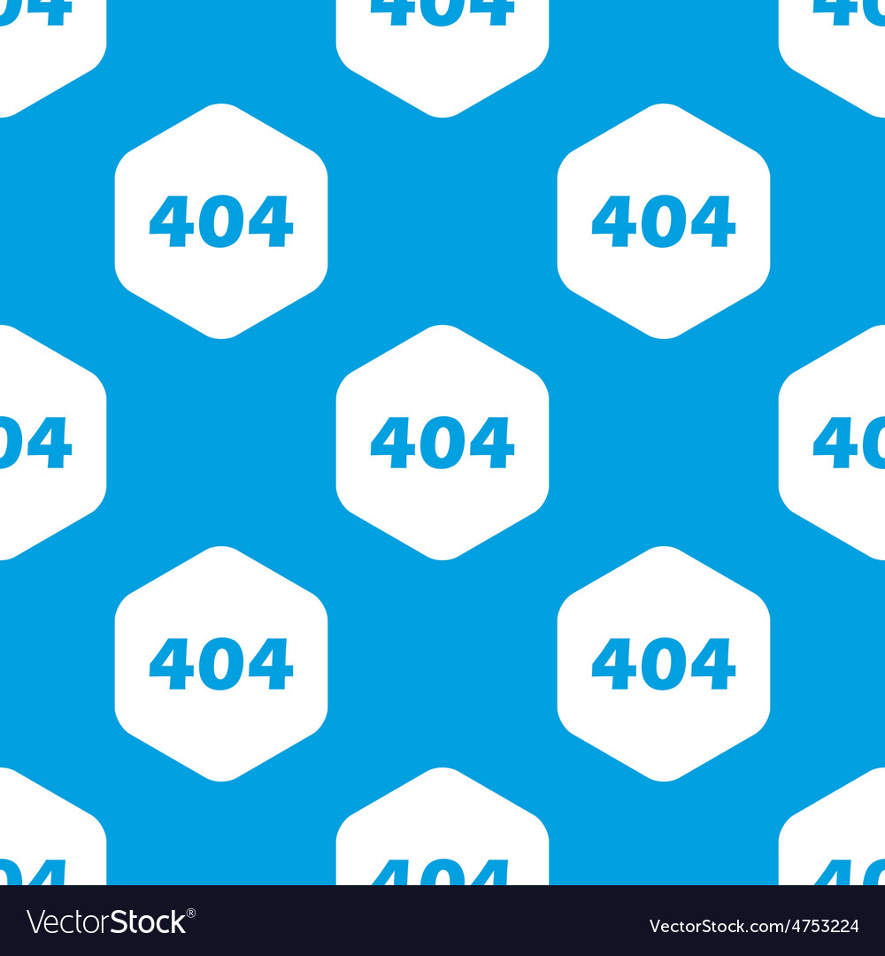 Error 404 hexagon pattern vector | Price: 1 Credit (USD $1)