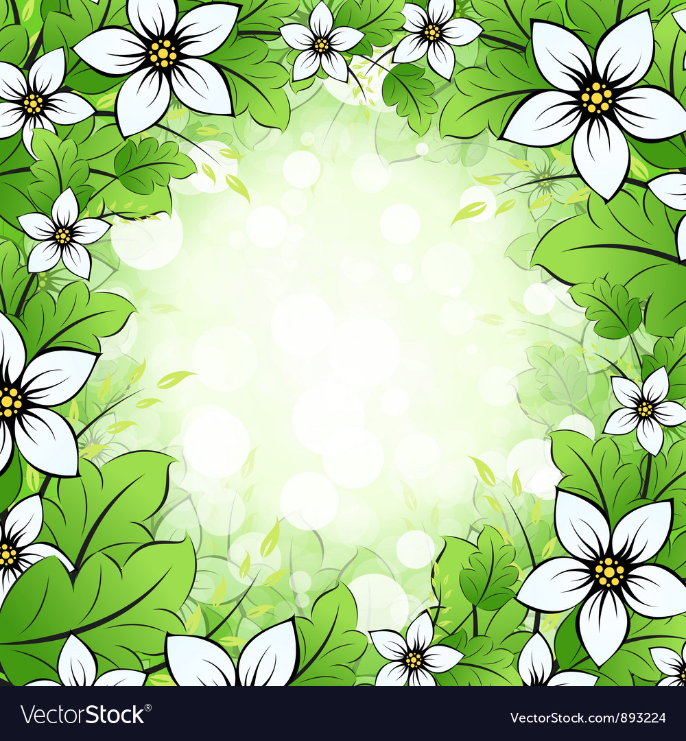 Floral framing vector | Price: 1 Credit (USD $1)