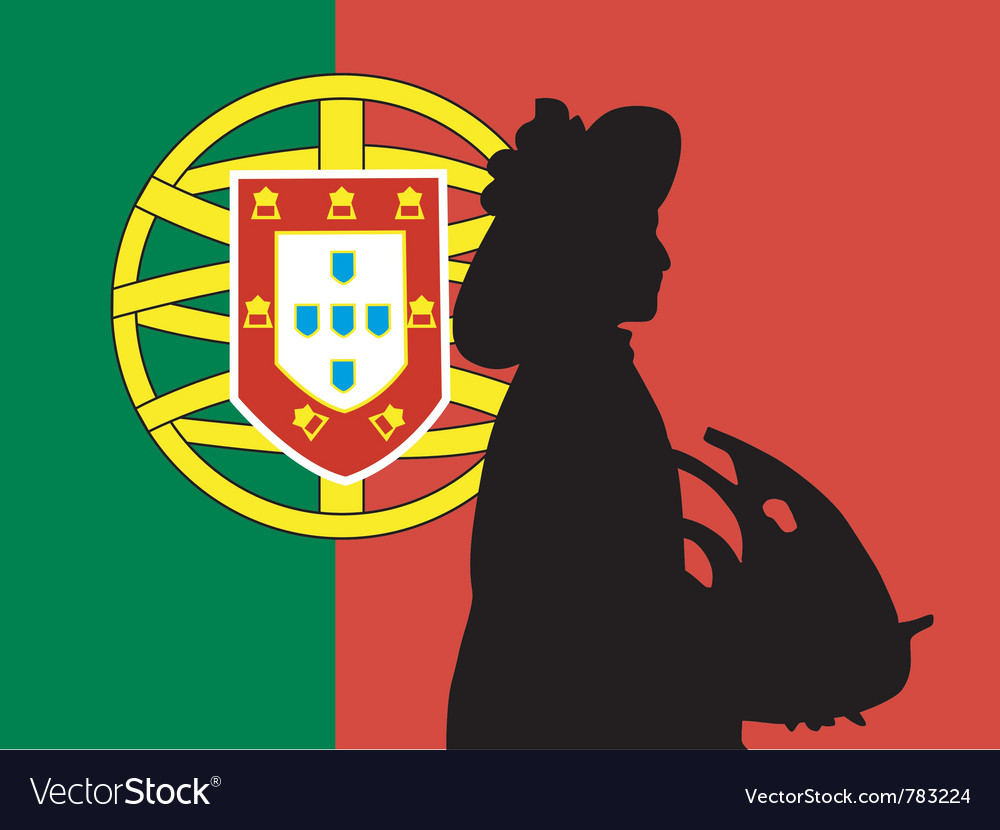 Silhouette of lisbon vector | Price: 1 Credit (USD $1)