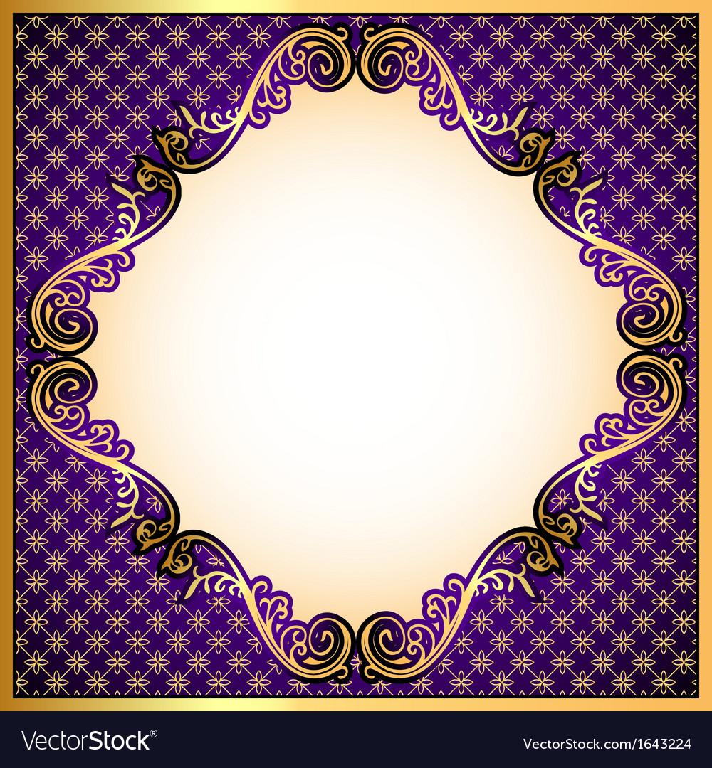 Violet background vector | Price: 1 Credit (USD $1)