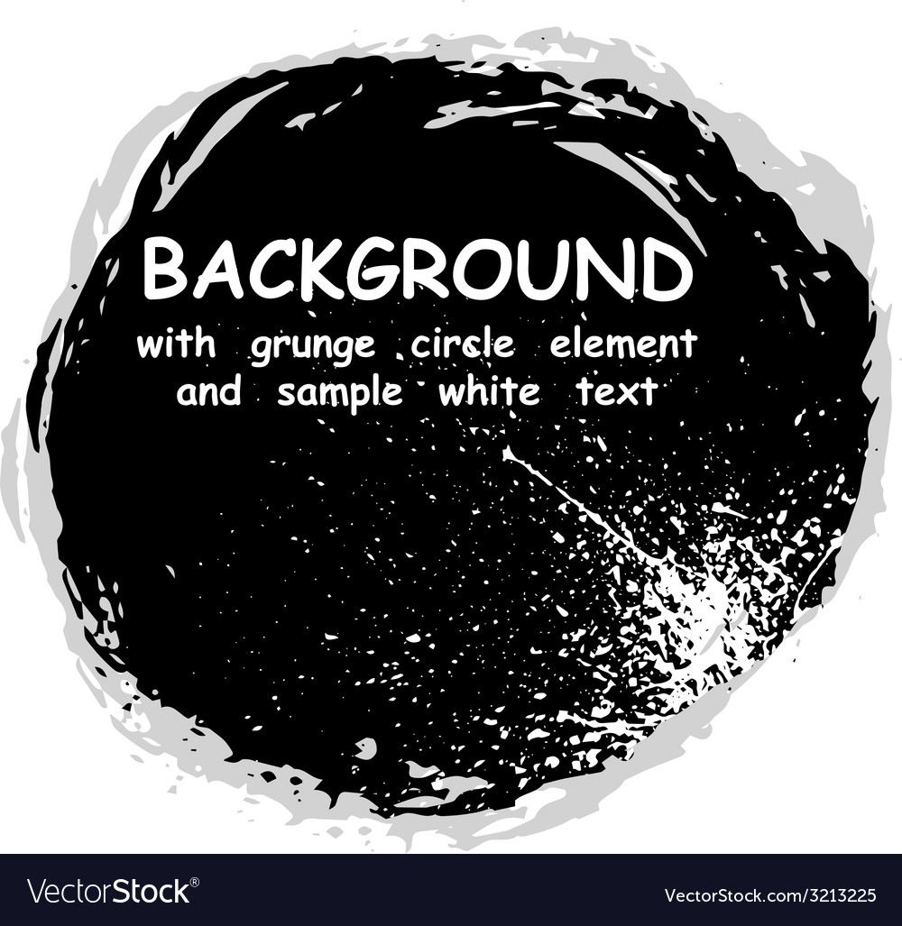 Circle grunge vector | Price: 1 Credit (USD $1)