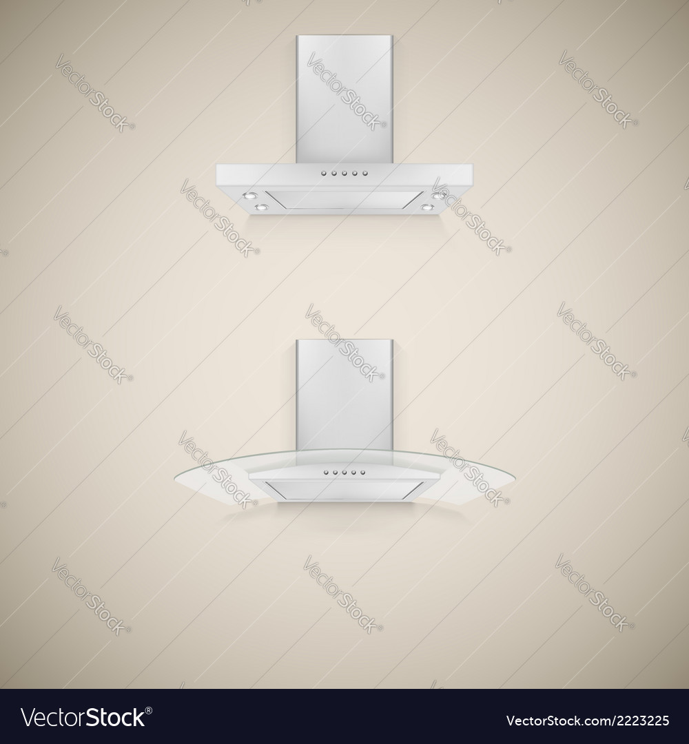 Kitchen hood vector | Price: 1 Credit (USD $1)