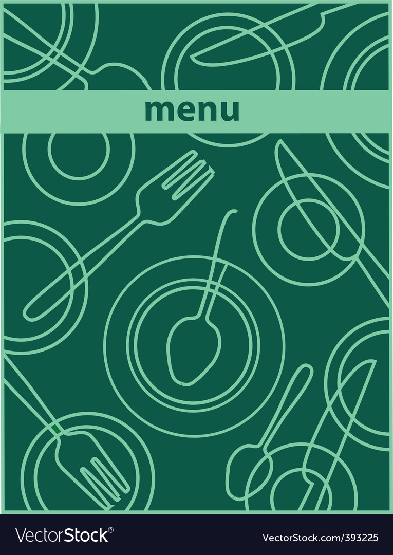 Restaurant cafe menu vector | Price: 1 Credit (USD $1)