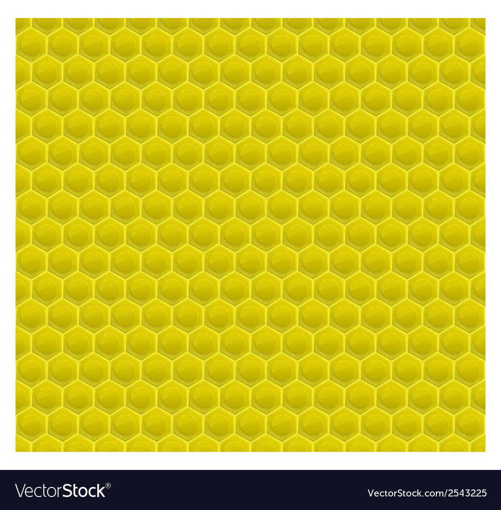 Yellow pattern hexagon mosaic vector | Price: 1 Credit (USD $1)