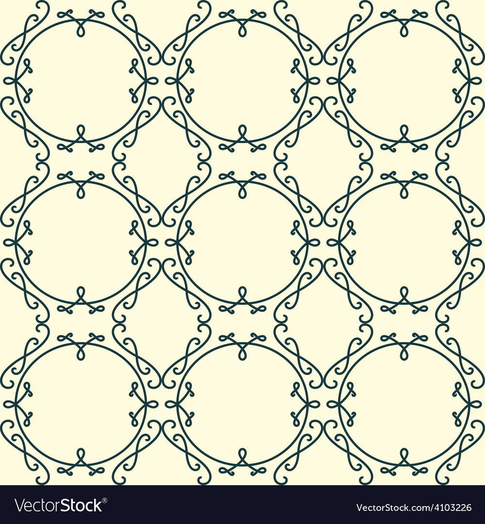 Lacy background monogram seamless ornament vector | Price: 1 Credit (USD $1)