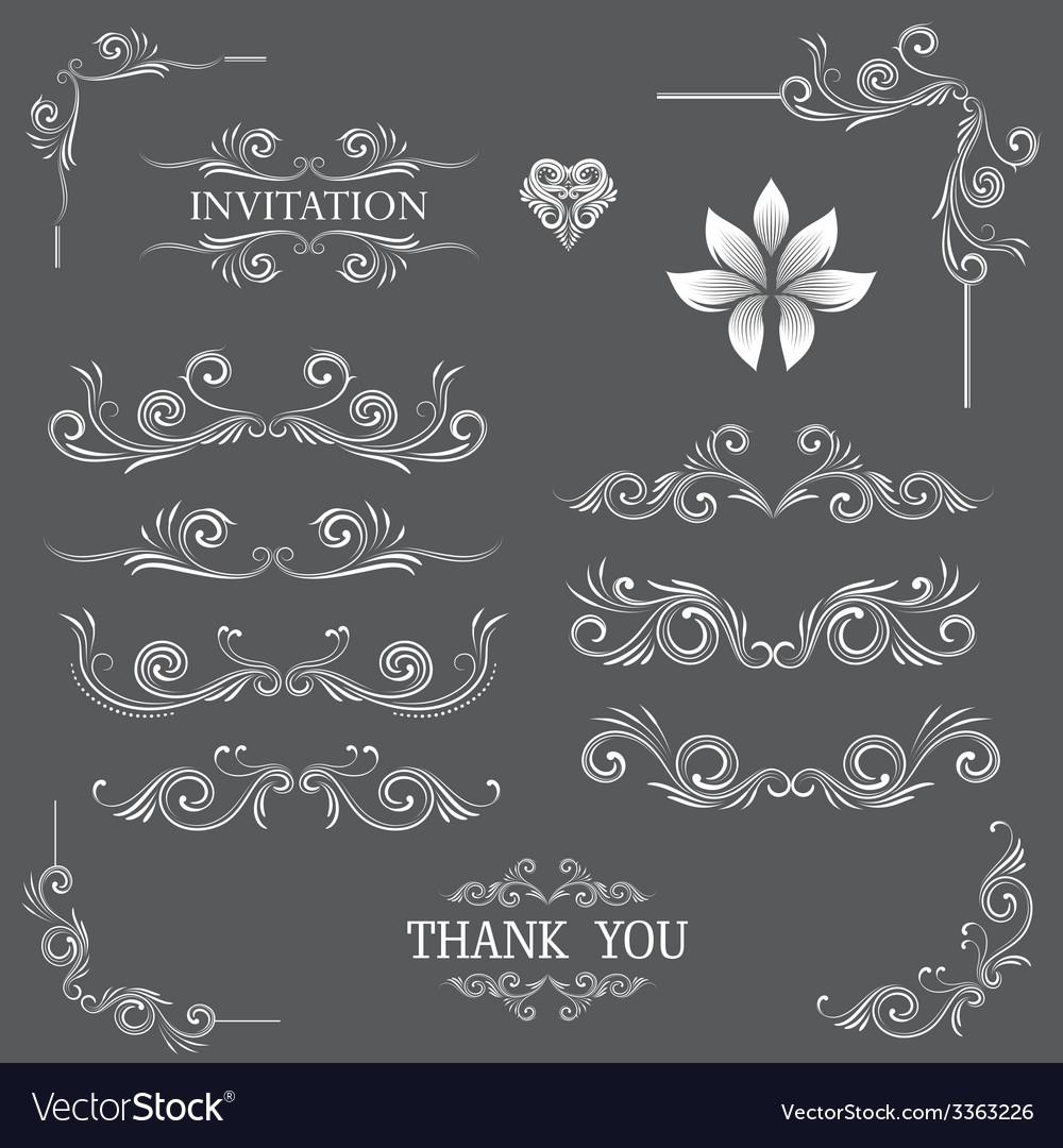 Vintage line art ornamental vector | Price: 1 Credit (USD $1)